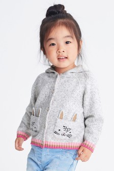 Cat Hoody Cardigan (3mths-7yrs)
