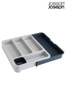 Серый органайзер для столовых приборов Joseph® Joseph