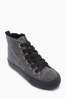 High Top Sparkle Trainers (Older)