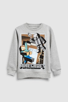 Minecraft Sweat Top (4-14yrs)