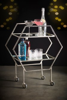 Bar Drinks Trolley