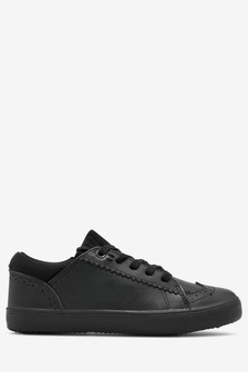Lace-Up Leather Brogues (Older)