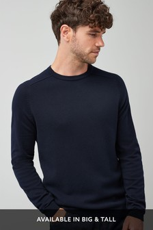 Cotton Rich Textured Crew
