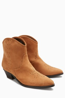 Studded Western Boots