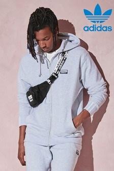 adidas Originals Light Grey R.Y.V. Zip Through Hoody