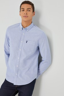 Long Sleeve Stag Oxford Shirt