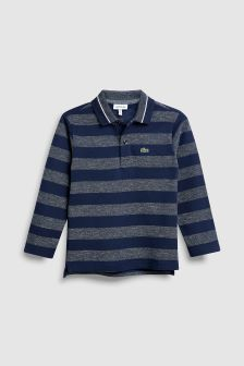Lacoste® Mouline Stripe Polo