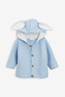 Bunny Ears Cardigan (0mths-2yrs)