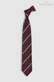Signature Made in Italy Stripe Tie