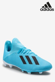 adidas Hardwired Blue X Firm Ground Junior & Youth Football Boots
