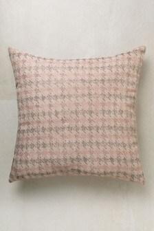 Dogtooth Jacquard Cushion