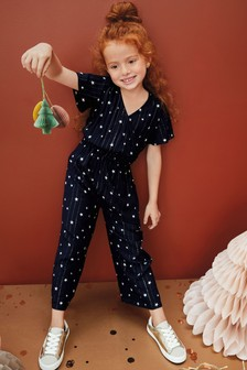 Sparkle Star Wrap Jumpsuit (3-16yrs)