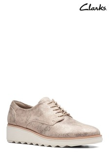 c9b4ff7364e Add to Favourites. Clarks Pewter Sharon Crystal Shoe