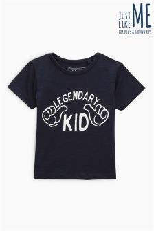 Legendary Kid Short Sleeve T-Shirt (3mths-6yrs)