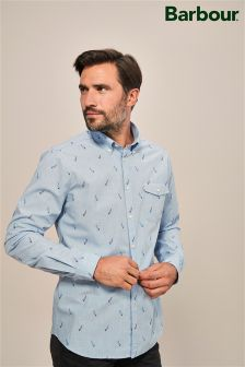 Barbour® Blue Sails Jacquard Shirt