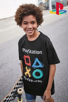 PlayStation™ Textured Print Technique T-Shirt (3-16yrs)