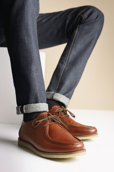 Apron Derby Shoes