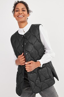 Recycled Polyester Quilted Gilet