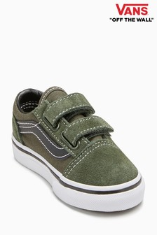 Vans Green Old Skool Velcro