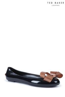 Ted Baker Larmiar Black Jelly Bow Pump