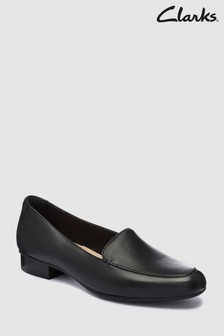 Clarks Black Juliet Lora Square Toe Shoe