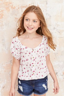 Button Blouse (3-16yrs)