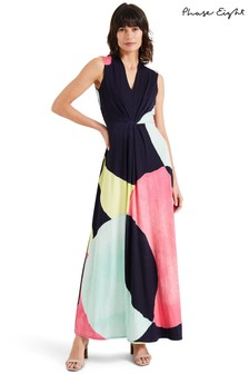 Phase Eight Multi Gabrielle Circle Maxi Dress