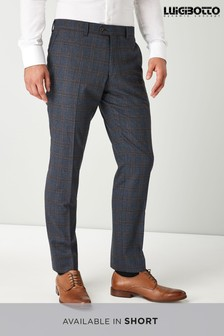 Signature Check Suit: Trousers