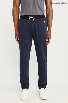 Abercrombie & Fitch Navy Classic Joggers