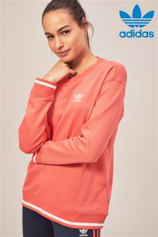 adidas Originals Red Sweat Top
