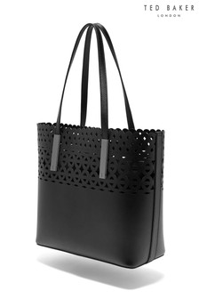 Ted Baker Sylviee Black Cut Out Shopper Bag