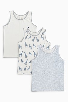 Giraffe Vests Three Pack (1.5-16yrs)