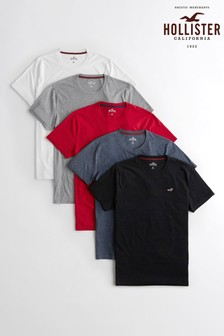 Hollister Tees Five Pack