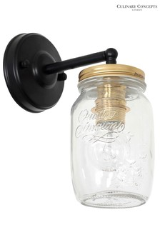 Culinary Concepts Jar Wall Light