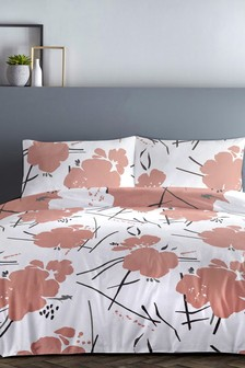 Starline Floral Duvet Cover and Pillowcase Set