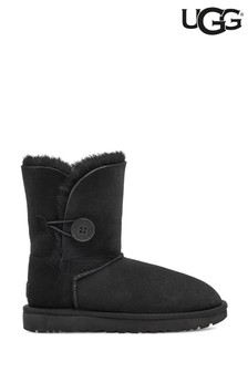 UGG® Black Bailey Button Boots
