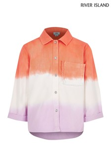 River Island Pink Ombre Shacket
