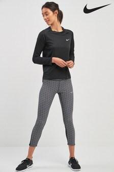 Nike Black JDI Crop Tight