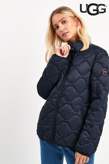 UGG® Navy Selda Packable Quilted Jacket