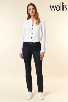 Wallis Navy Fitted Jegging