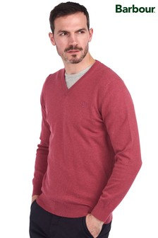 Barbour® Pima Cotton V-Neck Sweater