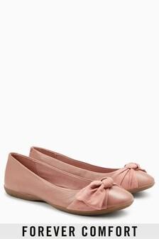 Forever Comfort Bow Ballerinas