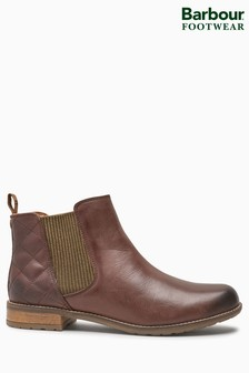 Barbour® Abigail Wine Chelsea Boot