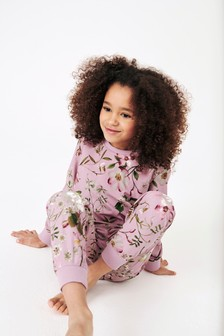 Floral Cosy Pyjamas (3-16yrs)