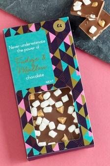 Fudge And Mallow Chocolate Bar