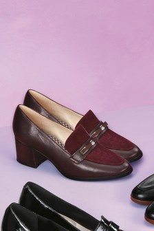 Forever Comfort Leather Trim Loafers