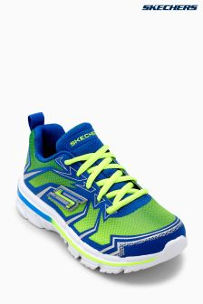 Skechers® Green Nitrate Thermoblast Lightweight Lace Sneaker