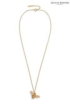 Olivia Burton Gold Sparkle Bee Necklace