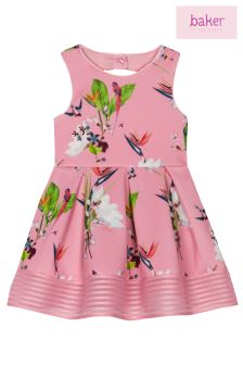baker by Ted Baker Oasis Scuba Prom Dress