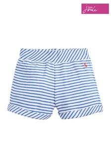 Joules White/Blue Kittiwake Jersey Short